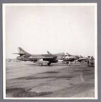 HAWKER HUNTER F5 LARGE VINTAGE ORIGINAL THE AEROPLANE PRESS PHOTO RAF