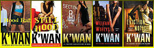 HOOD RAT Series LARGE TRADE PAPERBACK Collection by K'WAN Books 1-5 Brand New!