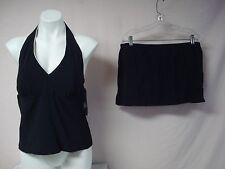NWT Women's USA Made Penbrooke 2 Piece Tankini Swimwear Size 14 Navy #786J
