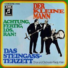 """7"""" DAS TONI STEINGASS-TERZETT Der kleine Mann FERDY KLEIN Karneval COLUMBIA 1969"""