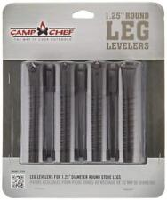 Camp Chef Leg Levelers Fits Most Stoves And Camp Tables, (4-Pack), Black