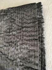 Restoration Hardware Velvet Pick Stitch Quilt, King/Ck, Greystone 92