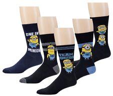 Minion Herren Socken Strümpfe Ich einfach unverbesserlich 5 Paar one size