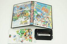 Chiki Chiki Boys Genesis Sega Megadrive Box Japan USED