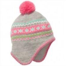 Carter's Baby Girl Winter Pom Pom Pilot Hat 3-9 Months MSRP $15