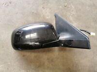 Suzuki Swift 2009 Drivers Side Electric Wing Mirror Black O/S Wing Mirror
