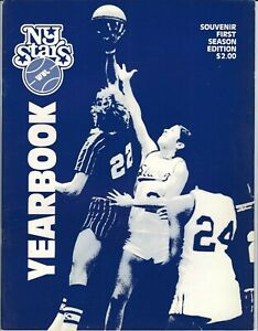 1979 New York Stars Yearbook/Revised, women's basketball league, WBL, WNBA