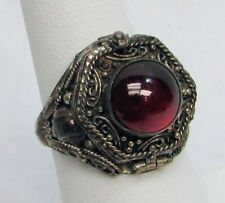 STERLING SILVER OPIUM / POISON RING SIZE 8