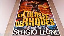 LE COLOSSE DE RHODES   ! sergio leone affiche cinema  peplum