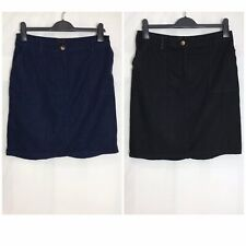 Next Linen Blend Pocket Elastic Waist Beach Skirt 2 Colours Size 6 - 26 (n-65h)
