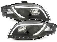 fari fanali anteriori Daylight LED DRL Audi A4 B7 8E 05-07 A4 8H Cabrio 05> nero