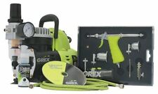 Grex GCK02 Airbrush Combo Kit with Tritium.TS3 Airbrush AC1810-A Compressor A...