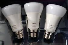 Philips Hue White/Colour Ambiance Triple Pack B22 smart bulbs (Richer Colours)