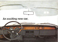 VW Volkswagen 411 1700 L Type 4 Saloon 1968-69 Original UK Sales Brochure