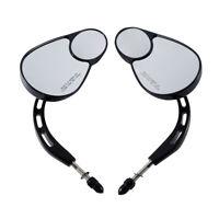 8mm Rear View Mirror Fit For Harley Road King RoadGlide Electra Street Tri Glide