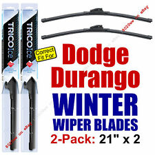 WINTER Wiper Blades 2-Pack Premium - fit 2002-2011 Dodge Dakota Wipers - 35210x2