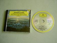 DEBUSSY La Mer/RAVEL Pavane etc Karajan CD album France solid silver