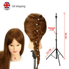 "Salon 20"" 100% Real Human Hair Training Head Mannequin Doll with Tripod Holder"