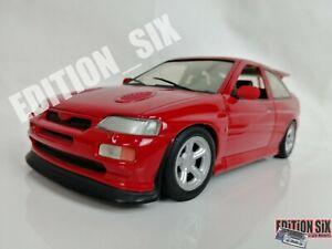 UT Models 1/18 1993 FORD ESCORT RS COSWORTH MKV red Replica sports car B