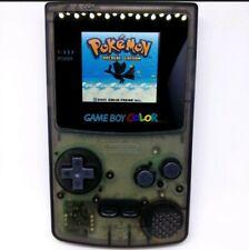 IPS Game Boy Color GBC Console With Highlight LCD - schwarz neuwertig*