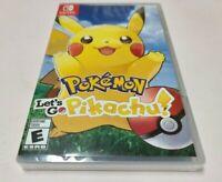 Pokemon: Let's Go, Pikachu! (Nintendo Switch, 2018) NEW