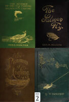 160 RARE BOOKS ON FLY FISHING,TYING, ANGLING, SALMON, TROUT, FLIES, ROD ON DVD