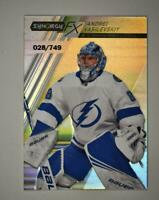 2020-21 UD Synergy FX #FX-11 Andrei Vasilevskiy /749 - Tampa Bay Lightning