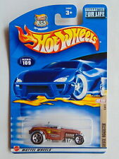 2002 Hot Wheels 1932 Ford Deuce Roadster Diecast - Hot Rod Magazine Series