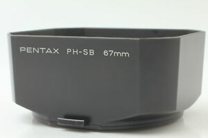 [Excellent+++++] PENTAX PH-SB 67mm Lens Hood For 67 6x7 90mm 105mm From JAPAN