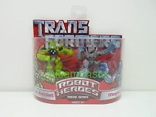 Hasbro Transformers Robot Heroes Movie Series Autobot Ratchet & Megatron Action