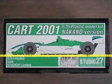 Studio27 Limited 1/25 CART 2001 Nakano Version Plastic Model Car Kit FK2502