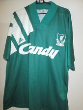 "Liverpool 1991-1992 Away Football Shirt Size 42""-44"" /35521"