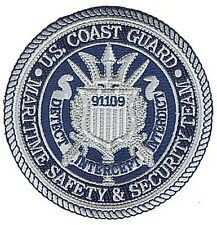 MSST 91109 San Diego pewter W4911 Coast Guard patch Maritime Safety Security Tea