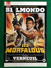 (M43) POSTER LOCANDINA 51x33 cm Film LES MORFALOUS BELMONDO da Cine Revue