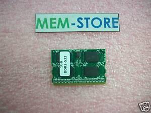CF-BAW1024U 1GB PC2-4200 MicroDIMM Memory for Panasonic