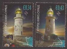 CYPRUS 2011 LIGHTHOUSES SET opt. SPECIMEN MNH