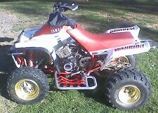 Warrior 350 Stock Style Full Graphic Kit Decals Stickers 87-04 Red Atv Quad