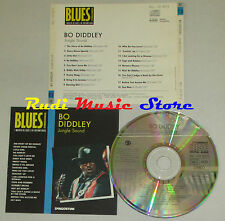 CD BO DIDDLEY Jungle sound 1992 BLUES COLLECTION DeAGOSTINI mc lp dvd vhs