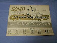 The Solid Gold Cadillac (1956) Judy Holliday, John Williams PRESSBOOK
