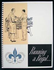 "LeBLOND 13""-24"" Lathe Manual Running A Regal printed on 28Lb Paper"