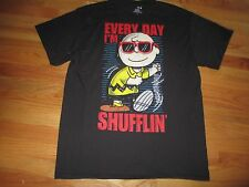 "Peanuts CHARLIE BROWN ""EVERY DAY I'M SHUFFLIN'"" (LG) T-Shirt w/ Tags"
