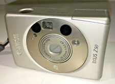 Canon IXUS Z50 ultra-compact camera for APS film, 2x zoom, with case AND FILM