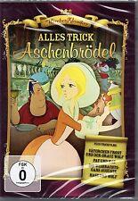 ALLES TRICK - ASCHENBRÖDEL; VÄTERCHEN FROST; PAT & MAT ; HASE & WOLF DVD Neu!