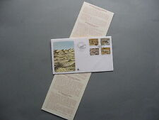 SWA SOUTHWEST AFRICA, cover FDC 1978, reptile snake gecko, canc. scorpion