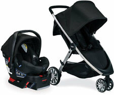 Britax B-Lively Stroller & B-Safe 35 Car Seat Travel System Raven New B-Agile
