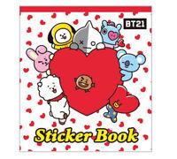 NEW) BT21 Sticker Book Mini Book Bangtan Boys BTS Goods