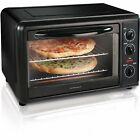 Hamilton Beach Countertop Toaster Oven with Convection, Black   31121A photo