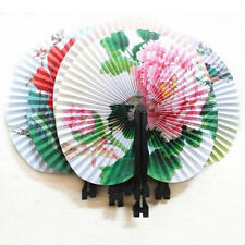 LK_3pcs pliable Chinois floral oriental papier EVENTAILS fête table faveurs D
