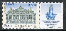 STAMP / TIMBRE FRANCE  N° 3926 ** PHILATELIE A PARIS / OPERA GARNIER