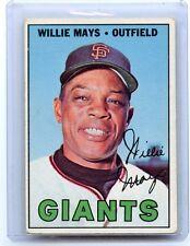 1967 TOPPS BASEBALL #200 WILLIE MAYS, SAN FRANCISCO GIANTS, HOF, 101714